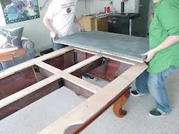 Pool table moves in Olympia Washington