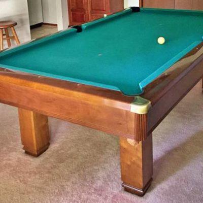 Hawthorn by Brunswick 8' Slate Pool Table