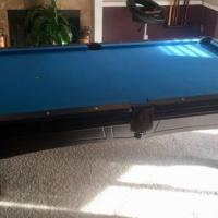 Custom Wood Pool Table