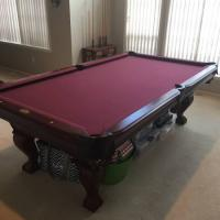 8' Thomas Aaron Pool Table